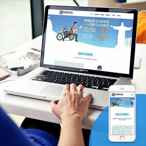 Criação de Sites para Empresa de Motoboy RJ