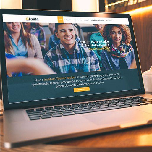 Criação de Sites para Cursos Técnicos