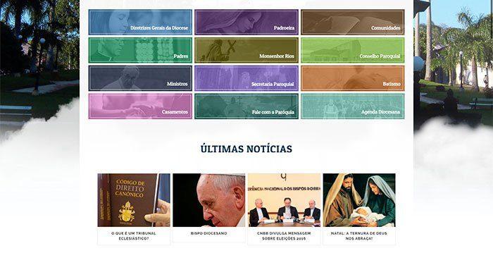 site para igrejas
