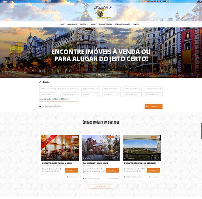 site para imobiliaria