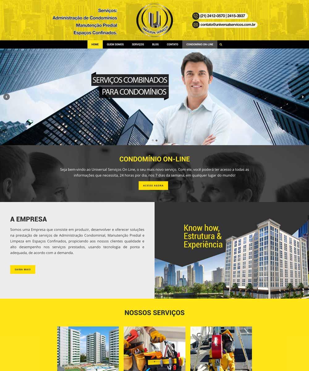 Criação de Sites Institucionais
