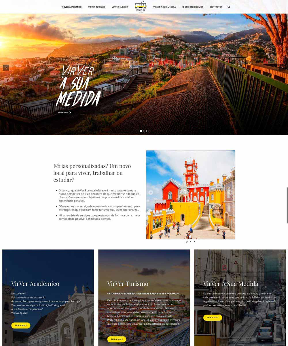 Criação de Sites para Agencia de Viagem